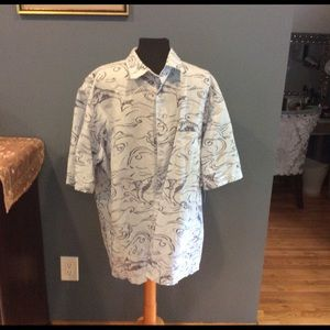 Men's Nautica button down shirt